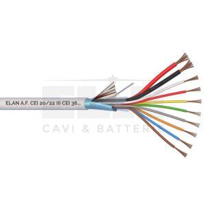 Kábel tienený 2x0,75 + 8x0,22