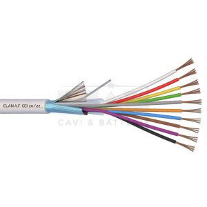Kábel tienený 10x0,22