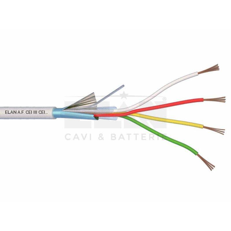 Kábel tienený 4x0,22